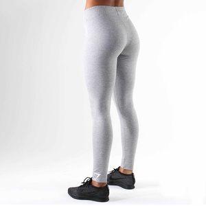 GYMSHARK Ark Jersey Leggings (M-light grey marl)